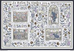 2014 - Bloc Feuillet 135 SALON Du TIMBRE N° 135 NEUF** LUXE MNH