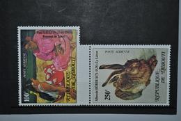Djibouti 1978 PA NH Gomme Sèche? Sans Gomme? - Djibouti (1977-...)