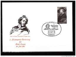 Germany 1987 Paintings Rubens Commemorative Cover