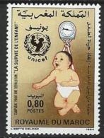 "Maroc YT 982 "" Survie De L'enfant "" 1985 Neuf** - Marocco (1956-...)"