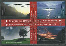 Zwitserland, Mi Blok 47 Jaar 2011,    Prachtig Gestempeld, Zie Scan