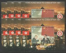 8x BERNERA - MNH - Famous People - China - Flags