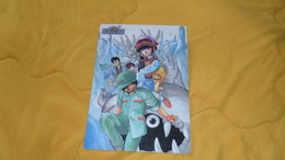SOUS MAIN PLASTIFIE JAPONAIS SHITAJIKI MANGA COLLECTION. / 3X3 EYES. KODANSHA. / DATE ?. - Autres Collections