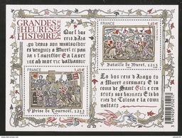 2013 - Bloc Feuillet F4828 Les Grandes Heures De L'HISTOIRE N° 4828 NEUF** LUXE MNH