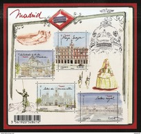 2013 - Bloc Feuillet F4730  Capitales Européennes MADRID N° 4730 NEUF** LUXE MNH