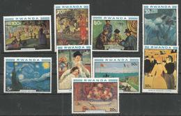 RWANDA - MNH - Art - Painting - Renoir - Van Gogh