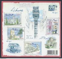 2009 - Bloc N° F4402 ( 4402 à 4405 ) NEUF ** LUXE , Capitales Européennes , LISBONNE