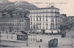 CPA Grenoble - Place De La Gare Et La Bastille  (28857) - Grenoble