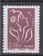= Marianne De Lamouche Phil@poste N°4158 Neuf Gommé 2.18€ Brun Prune - 2004-08 Marianne (Lamouche)