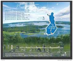 Finlande 2011 Bloc  Neuf N°59 Arc Géodésique De Struve