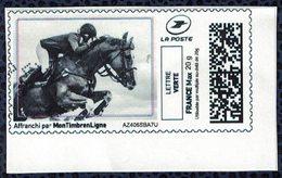 France Vignette Oblitérée Used Mon Timbre En Ligne équitation Cheval Cavalier