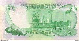 LIBYA P. 42Aa 1/4 D 1981 UNC - Libië