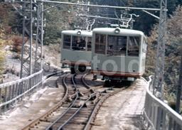 60s CABLE CAR JAPAN ORIGINAL 35 Mm DIAPOSITIVE SLIDE PHOTO FOTO B1038 - Dias