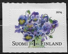 Finlande 2014 N°2288 Neuf Fleurs Violettes
