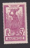 Martinique, Scott #99, Mint Hinged, Scenes Of Martinique, Issued 1908 - Martinique (1886-1947)