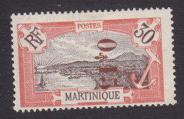Martinique, Scott #117, Mint Hinged, Scenes Of Martinique Surcharged, Issued 1924 - Martinique (1886-1947)