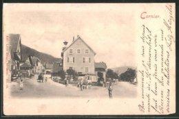 CPA Cernier, Vue De La Rue Im Ort - NE Neuchâtel