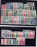 1935 -1939  Y   298  à  354 **  + Slovaquie 35A  Complet  ( 56 Pieces ) Cote 60 €