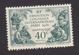 Martinique, Scott #129, Mint Hinged, Colonial Exposition, Issued 1931 - Martinique (1886-1947)