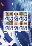 GREECE STAMPS PERSONAL STAMP WITH LABEL SHEETLET/100  YEARS UNION  OF SAMOS  ISLAND WITH GREECE  -2012-MNH - Griechenland