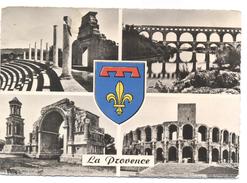 FRANCIA - France - 1958 - 15F Le Quesnoy - 30 Gard - Multivues - Viaggiata Da Arles Per Paris - Francia