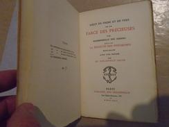 RECIT En PROSE Et En VERS  De La FARCE Des PRECIEUSES Par Mademoiselle DES JARDINS 1879