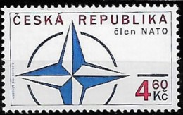 CZECH REPUBLIC 1999/2002 Admission Au Sein NATO Sommet OTAN Prague, 2 Val Mnh