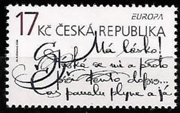 CZECH REPUBLIC 2008 Europa écrire Une Lettre, 1 Val Mnh