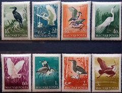 Hungary, 1959, Birds, Crane, Heron, Stork, MNH