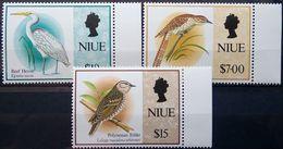 Niue, 1993, Birds, Heron, MNH