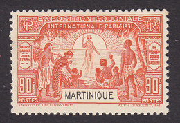 Martinique, Scott #131, Mint Hinged, Colonial Exposition, Issued 1931 - Martinique (1886-1947)