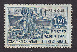 Martinique, Scott #132, Mint Hinged, Colonial Exposition, Issued 1931 - Martinique (1886-1947)