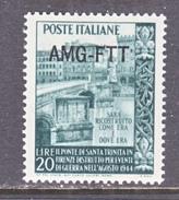 ITALY  AMG  FTT   55    ** - 7. Trieste