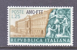 ITALY  AMG  FTT   142     **   PALACE - 7. Trieste