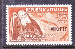 ITALY  AMG  FTT   156     **   CATHOLICES  IN  ETHIOPIA - 7. Trieste