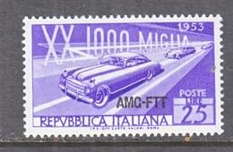 ITALY  AMG  FTT   166     **   AUTO  RACE - 7. Trieste