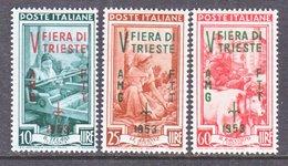 ITALY  AMG  FTT   178-80     **   TRIESTE  FAIR - 7. Trieste