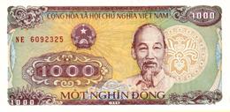 VIETNAM 1000 DONG 1988 (1989) P-106a UNC SMALL SERIAL # [VN334a] - Vietnam