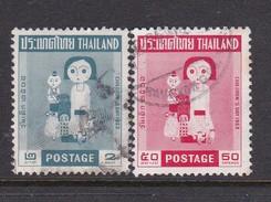 Thailand SG 505-506 1963 Children's Day Used Set - Thailand