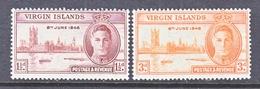 BRITISH  VIRGIN  ISLANDS  88-9    ** - British Virgin Islands