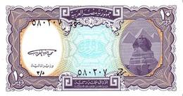 EGYPT 10 PIASTRES L. 1940 (1998) P-189a UNC AZURE [EG189a] - Egitto