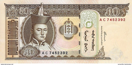 MONGOLIA 50 ТӨГРӨГ (TÖGRÖG) 2000 P-64a UNC  [MN421a] - Mongolie