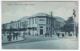 Poland Polska 1914 Lublin, Krakowskie Przedmiescie, Krak.-Przedm. (Bank Panstwa) - Pologne