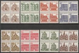 Bund MiNr. 454/61 ** Freimarken: Deutsche Bauwerke Aus Zwölf Jahrhunderten