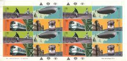 Argentina / Argentine - 2000 - Moyens De Transport - Bicyclette - Dirigeable - Locomotive - Tramway - Yvert 2205 / 2208 - Argentinien