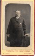 183 A. STURM Peintre Photographe LOKEREN - BELGIQUE - Carte Photo (Carte De Visite) - Personnes Anonymes