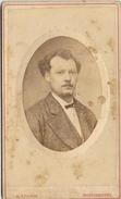 184 A. STURM Peintre Photographe LOKEREN - BELGIQUE - Carte Photo De Alfred VERMEERE  (Carte De Visite) - Personnes Identifiées