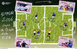 Bloc N° 97 - Coupe Du Monde De Football Année 2006 Valeur Faciale 5,3 €