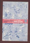 BUVARD  -- Pile  MAZDA - Dessin, Illustrateur Albert DUBOUT - Buvard Superbe.!! - 2 Scannes. - Piles
