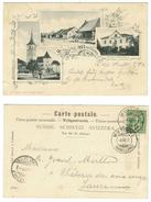 Suisse // Schweiz // Switzerland //  Bâle-Campagne  //  Gruss Aus Muttenz - BL Basle-Country